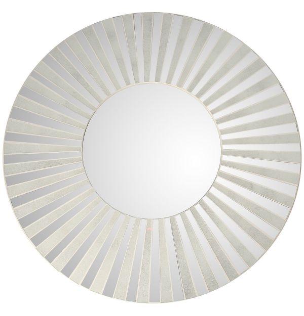 Espejo Redondo Ceramica 80 Cm