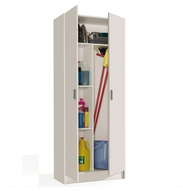 armario escobero 50 cm ancho armario puerta abatible