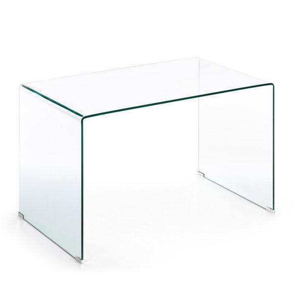 Mesa Escritorio Burano Cristal 125x70